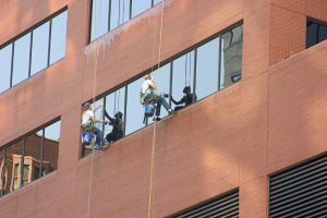 Rope Window Cleaning